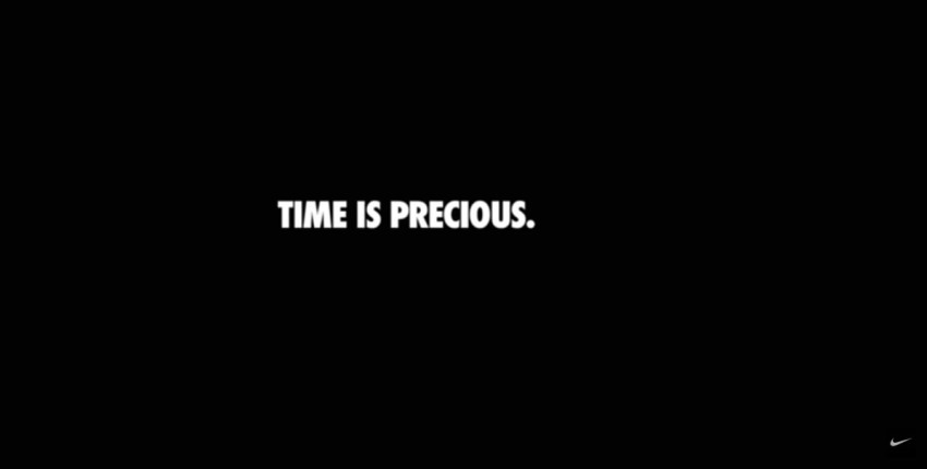 Nike's Brilliant New Ad: Time Is Precious! | Hybrid Talks