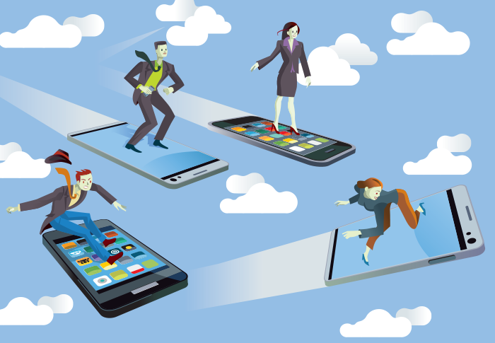 Content to Mobile Readers | Hybrid Talks